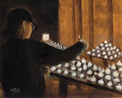 Candlelight Vigil by mbeckett