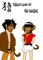 Year of the monkey by kittypetro