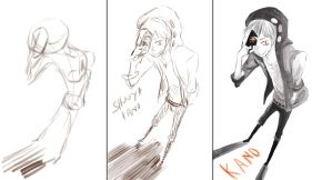-Kano painting process- by Caramel-Kon