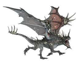 Dragon 08 PNG Stock by Roy3D