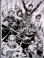 The Justice League by samrogers
