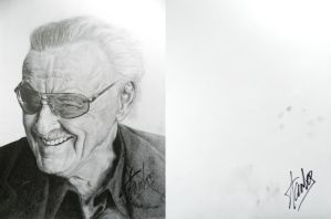 Stan Lee Signed by bronze-dragonrider