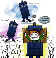 Tardis adventure by The-TraveIing-Itch