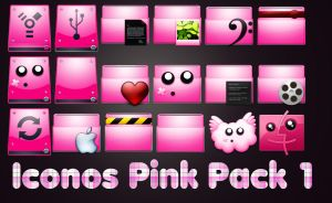 Iconos Pink by kamysweet