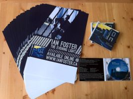 Ian Foster - CD Release package by AndrewWinter