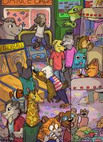 Furry Arcade round two by ColaFizz