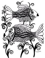 Two Fish by firenze