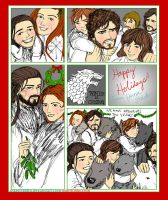 Happy Holidays (from House Stark) by sketchditto