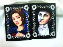 phantom of the opera note book by poperart