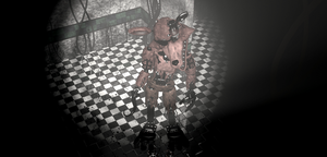 Withered Foxy wallpaper FNAF2 by Sailormbmoon