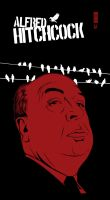Alfred Hitchcock by craniodsgn