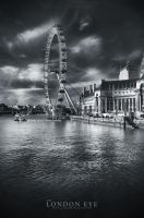 the London Eye. by trixy54
