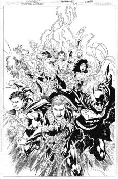 JUSTICE LEAGUE Issue 15 COVER by JoePrado2010