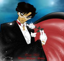 Tuxedo Mask - Ethnic Wallpaper Edition by guillmon9005