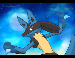 Lucario by The-Ravens-Of-Moraea