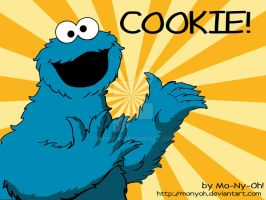cookie monster by MoNyOh