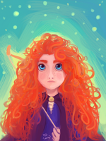 Merida by Tulidragon