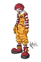 Ronald McDonald by Nhazul-Anims