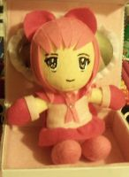 Another Magical Girl: Breast Cancer Awareness Doll by TashaAkaTachi