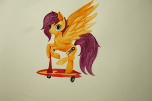 Scootaloo by Dash-a