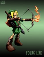 young link with bg by pnutink
