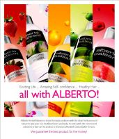 Alberto Natural ad by creavity