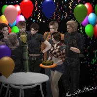 Even Nemesis has a birthday by IamAlbertWesker