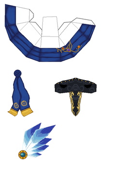 Maplestory Phantom Hat Papercraft by Elizabethsailor7