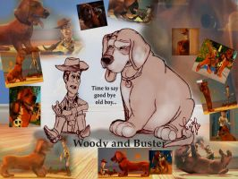 Woody and Buster by GoldieRetriever