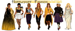 Hufflepuff fashion by storytellersdaughter