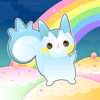 Pachirisu Kiriban by shiropanda