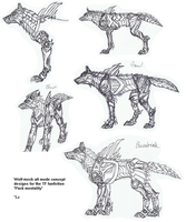WolfMech Concepts by Deathcomes4u