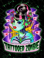 Tattooed Zombie by MummysLittleMonster