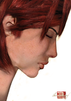 Photo-realistic Commander Shepard by Hayter