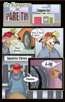 Oz Kangaroo Gas Station  Page1 by AlexRaccoon