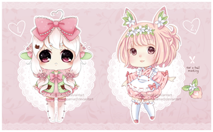 [Closed] Collab Species Adopts by Cottoneeh