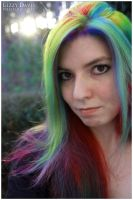 Rainbow Hair v.3 by lizzys-photos