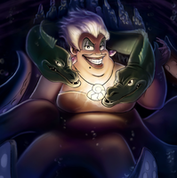 Ursula Illustration by otherworldmedia