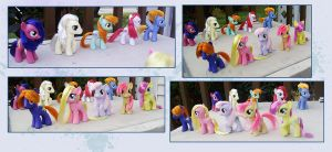 My Little Pony tales customs by kaizerin