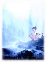 Waterfall Fae by faerykisses