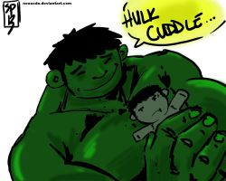 HULK CUDDLE by NexusDX