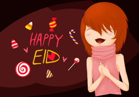 Happy Eid by SamBasu