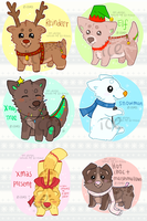 [CLOSED] Christmas Zippets! by Ice-Flakes