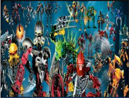 Bionicle Underwater Parteh by OmegaTerry