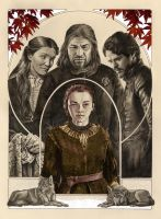 Arya Stark: Valar Morghulis (final) by AllisonSohn