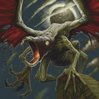 Cthulhu Tales - Hybrid Winged Thing by ScottPurdy