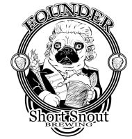 Short Snout Brewing Founder's Logo by DeuceOhNegative