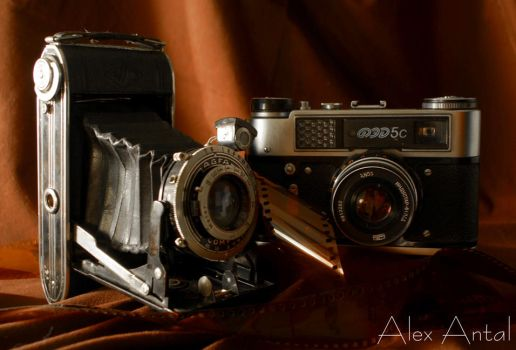Old Cameras III - Product by alexnosilence
