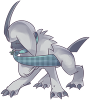 Custom Absol Commission by AutobotTesla