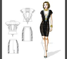 Chic fashion by Tania-S